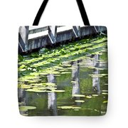 Reflection On The Pond Tote Bag