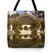 Reflection/lily Pond, Balboa Park, San Diego, California Tote Bag