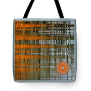Reflection With Sun Tote Bag
