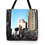 Reflections About Boston Tote Bag