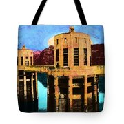 Reflections At Hoover Dam Tote Bag