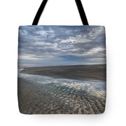 Reflections At Low Tide Tote Bag