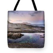 Reflections At Plomo Beach Tote Bag