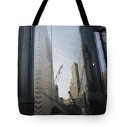 Reflections At The 9/11 Museum Tote Bag