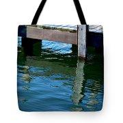 Reflections At The Marina Tote Bag