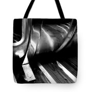 Reflections Bw Tote Bag