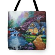 Reflections Cottage Tote Bag