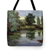 Reflections Duwamish River Tote Bag