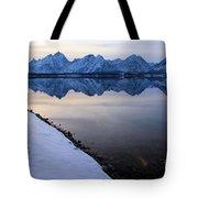 Reflections In Jackson Lake Tote Bag