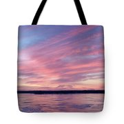 Reflections In Pink Tote Bag