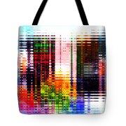 Reflections In Technicolor Tote Bag