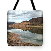 Reflections In The Blue Mesa Tote Bag