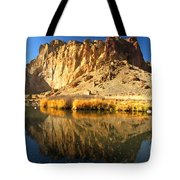 Reflections In The Crooked River Tote Bag