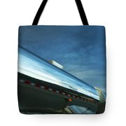 Reflections In The Passing Lane Tote Bag