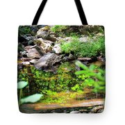 Reflections In The Stream Tote Bag