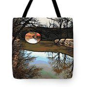 Reflections In The Water Tote Bag