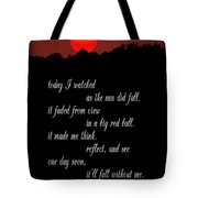 Reflections In Twilight Tote Bag