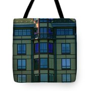 Reflections In Windows Tote Bag