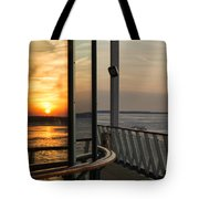 Reflections Of A Chesapeake Sunset Tote Bag