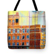 Reflections Of A City Tote Bag