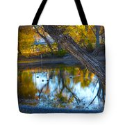 Reflections Of A Pond 2 Tote Bag