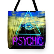 Reflections Of A Psychic Tote Bag