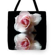 Reflections Of A Rose Tote Bag