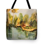 Reflections Of Age Thirteen Tote Bag