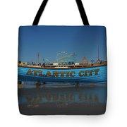 Reflections Of Atlantic City Tote Bag