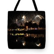 Reflections Of Epcot Tote Bag