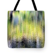 Reflections Of Fall 3 Tote Bag