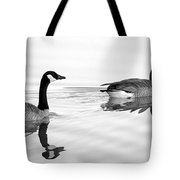 Reflections Of Geese Tote Bag