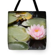 Reflections Of Lily Tote Bag