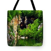 Reflections Of Mine Tote Bag