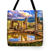 Reflections Of Past Glory Tote Bag