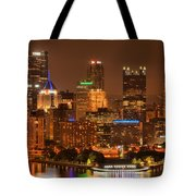 Reflections Of Pittsburgh Tote Bag