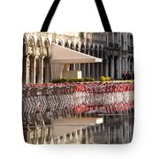 Reflections Of Saint Mark's Square -day Tote Bag