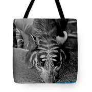 Reflections Of The Wild Negative Tote Bag