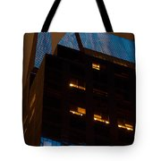 Reflections Of Times Square Tote Bag