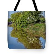 Reflections Of Trees Tote Bag