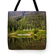 Reflections Of Vail Tote Bag
