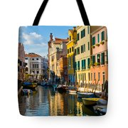 Reflections Of Venice II Tote Bag