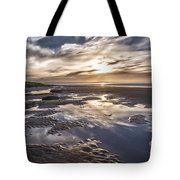 Reflections On A Beach Tote Bag