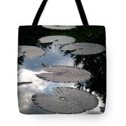 Reflections On A Lily Pond Monet Tote Bag
