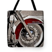 Reflections On A Motorcycle Tote Bag