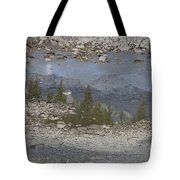 Reflections On A Mountain Stream Tote Bag