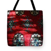 Reflections On A Persian Rug Tote Bag