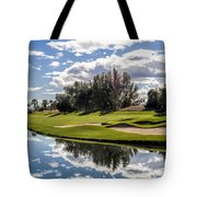 Reflections On A Still Morning Tote Bag