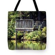 Reflections On A Summer Afternoon Tote Bag