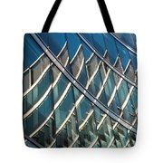 Reflections On Building Windows Tote Bag